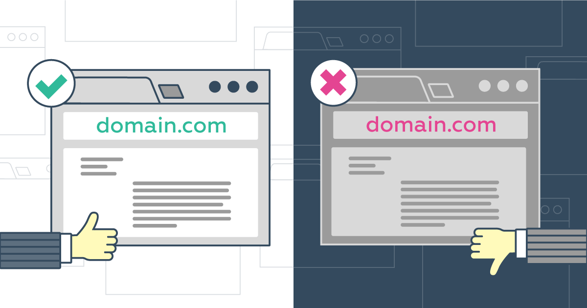 Domain reputation and blacklists | Web hosting software