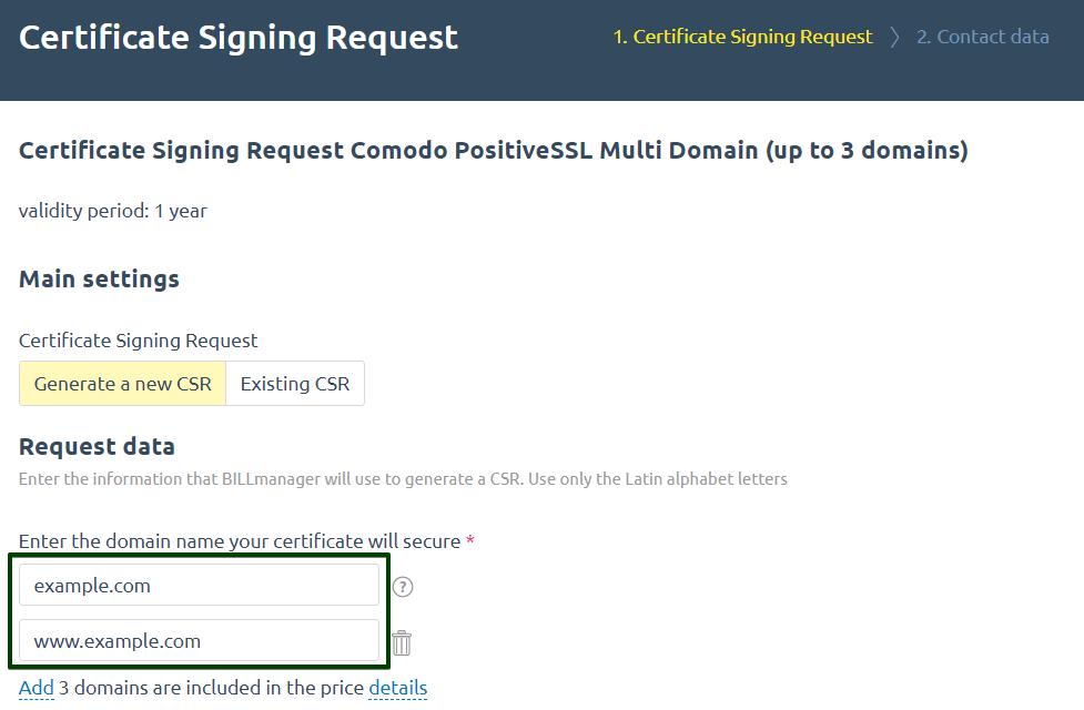 Multi Domain Ssl Certificates Benefits And Order Peculiarities