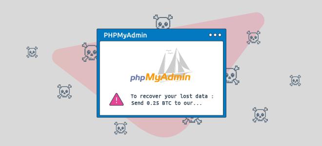 Protect phpMyAdmin to avoid data loss | Web hosting software